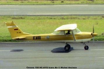 img629 Cessna 150 HC-AYO Icaro Air © Michel Anciaux