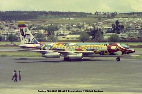 img630 Boeing 720-023B HC-AZQ Ecuatoriana © Michel Anciaux