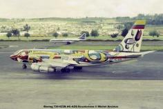 img632 Boeing 720-023B HC-AZQ Ecuatoriana © Michel Anciaux