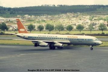 img637 Douglas DC-8-33 YV-C-VIF VIASA © Michel Anciaux