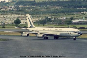 img640 Boeing 707-328B F-BLCE Air France © Michel Anciaux