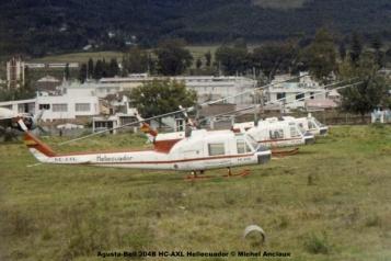 img651 Agusta-Bell 204B HC-AXL Heliecuador © Michel Anciaux