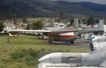 img653 Nord 2501D Noratlas HC-AXK Aerotaxi Ecuatorianos - ATESA © Michel Anciaux