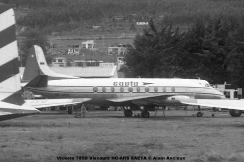 img669 Vickers 785D Viscount HC-ARS SAETA © Alain Anciaux