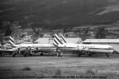 img671 Douglas DC-6 HC-AQA & Lockheed L-188A Electra HC-AMS Ecuatoriana © Alain Anciaux