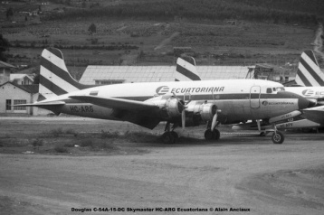 img673 Douglas C-54A-15-DC Skymaster HC-ARG Ecuatoriana © Alain Anciaux