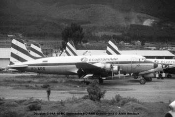 img674 Douglas C-54A-15-DC Skymaster HC-ARG Ecuatoriana © Alain Anciaux