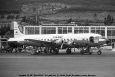 img677 Douglas DC-6B ''FAE45535'' HC-AVG (ex CC-CDN) TAME Ecuador © Alain Anciaux