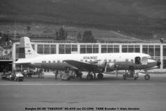 img678 Douglas DC-6B ''FAE45535'' HC-AVG (ex CC-CDN) TAME Ecuador © Alain Anciaux