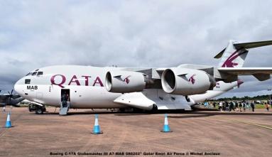 03 Boeing C-17A Globmaster III A7-MAB 080202'' Qatar Emiri Air Force © Michel Anciaux