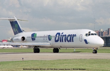 07 McDonnell Douglas DC-9-41 LV-YOA Dinar Lineas Aereas © Michel Anciaux
