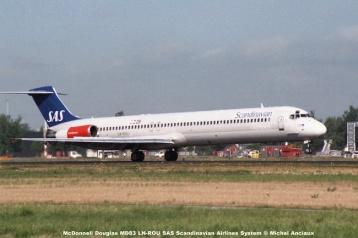 08 McDonnell Douglas MD83 LN-ROU SAS Scandinavian Airlines System © Michel Anciaux