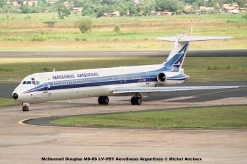 09 McDonnell Douglas MD-88 LV-VBY Aerolineas Argentinas © Michel Anciaux