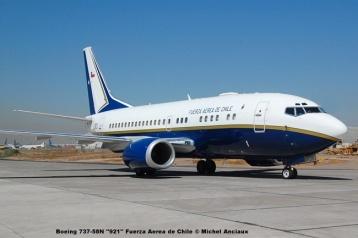 14 Boeing 737-58N ''921'' Fuerza Aerea de Chile © Michel Anciaux