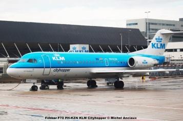 19 Fokker F70 PH-KZN KLM Cityhopper © Michel Anciaux