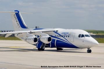 22 British Aerospace Avro RJ85 EI-RJX Cityjet © Michel Anciaux