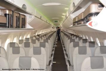 26 Bombardier CS300 YL-CSE Air Baltic © Michel Anciaux