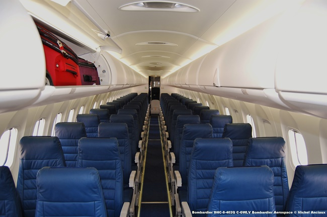27 Bombardier DHC-8-402Q C-GWLV Bombardier Aerospace © Michel Anciaux