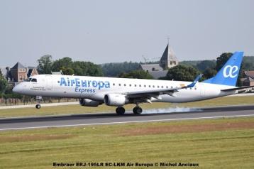 28 Embraer ERJ-195LR EC-LKM Air Europa © Michel Anciaux
