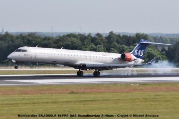 33 Bombardier ERJ-900LR EI-FPP SAS Scandinavian Airlines - Cityjet © Michel Anciaux