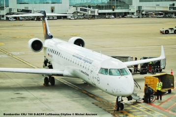 34 Bombardier CRJ 700 D-ACPP Lufthansa Cityline © Michel Anciaux