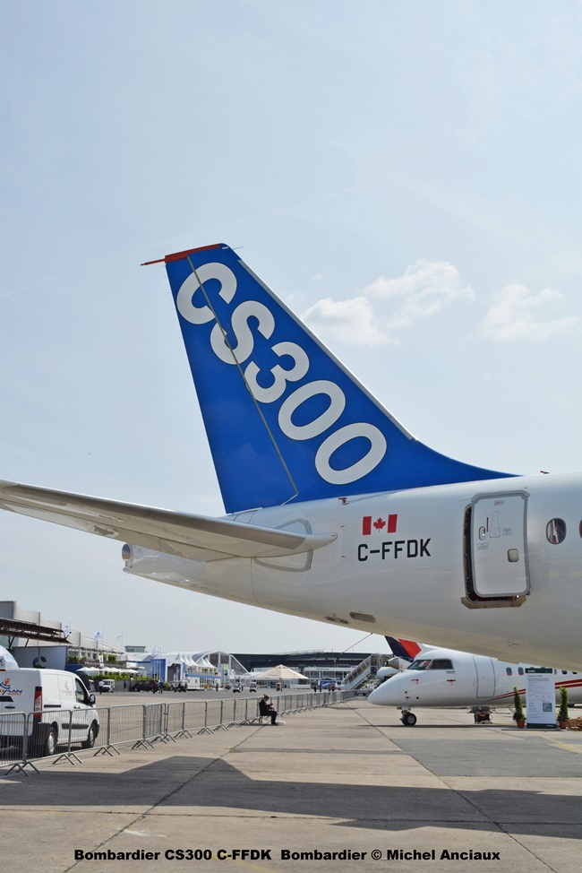 36 Bombardier CS300 C-FFDK Bombardier © Michel Anciaux