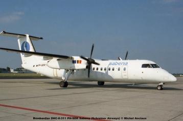37 Bombardier DHC-8-311 PH-SDR Sabena (Schreiner Airways) © Michel Anciaux