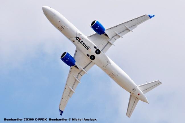 43 Bombardier CS300 C-FFDK Bombardier © Michel Anciaux