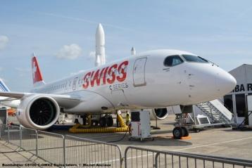 45 Bombardier CS100 C-GWXZ Swiss Intern. © Michel Anciaux