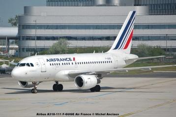 51 Airbus A318-111 F-GUGE Air France © Michel Anciaux