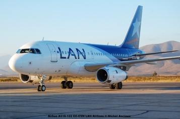 52 Airbus A318-122 CC-CVH LAN Airlines © Michel Anciaux