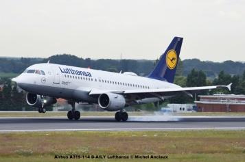 54 Airbus A319-114 D-AILY Lufthansa © Michel Anciaux