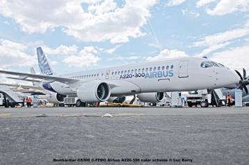 DSC07296 Bombardier CS300 C-FFDO Airbus A220-300 color scheme © Luc Barry