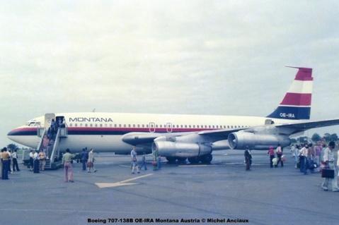 img297 Boeing 707-138B OE-IRA Montana Austria © Michel Anciaux