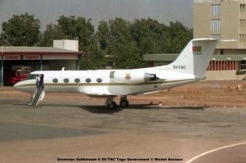 img379 Grumman Gulfstream II 5V-TAC Togo Government © Michel Anciaux