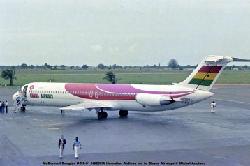 img544 McDonnell Douglas DC-9-51 N629HA Hawaiian Airlines lsd. to Ghana Airways © Michel Anciaux