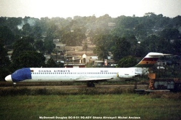 img548 McDonnell Douglas DC-9-51 9G-ADY Ghana Airways© Michel Anciaux
