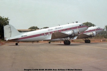 img551 Douglas C-47B-30-DK 5N-ARA Arax Airlines © Michel Anciaux