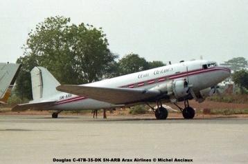 img552 Douglas C-47B-35-DK 5N-ARB Arax Airlines © Michel Anciaux