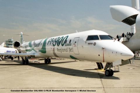 img244 Canadair-Bombardier CRJ-900 C-FRJX Bombardier Aerospace © Michel Anciaux