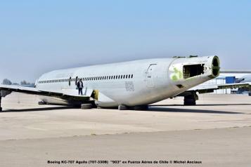 024 Boeing KC-707 Aguila (707-330B) ''903'' ex Fuerza Aérea de Chile © Michel Anciaux