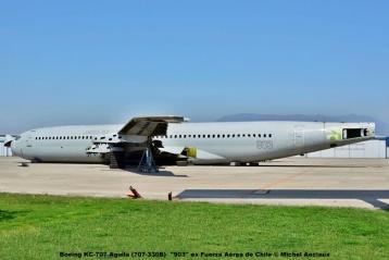 025 Boeing KC-707 Aguila (707-330B) ''903'' ex Fuerza Aérea de Chile © Michel Anciaux