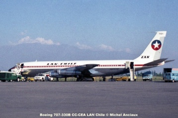 028 Boeing 707-330B CC-CEA LAN Chile © Michel Anciaux