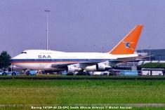 461 Boeing 747SP-44 ZS-SPC South African Airways © Michel Anciaux