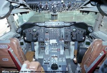 465 Boeing 747SP-44 ZS-SPF South African Airways © Michel Anciaux