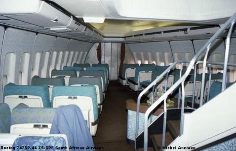 470 Boeing 747SP-44 ZS-SPF South African Airways © Michel Anciaux