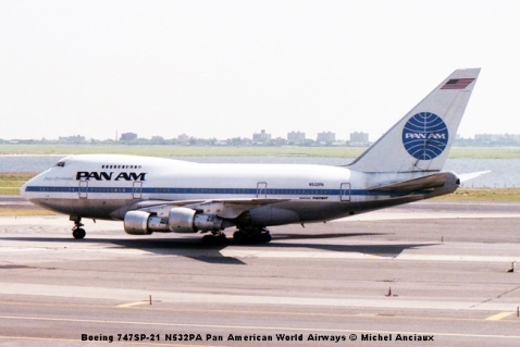img324 Boeing 747SP-21 N532PA Pan American World Airways © Michel Anciaux