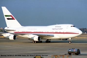 img371 Boeing 747SP-31 A6-SMM Dubai Air Wing © Michel Anciaux