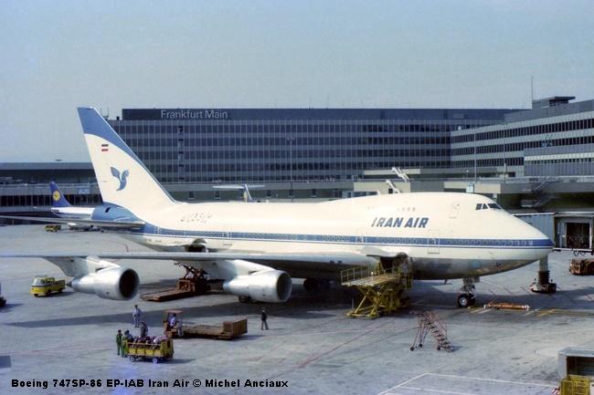 img676 Boeing 747SP-86 EP-IAB Iran Air © Michel Anciaux