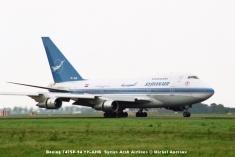 img720 Boeing 747SP-94 YK-AHB Syrian Arab Airlines © Michel Anciaux